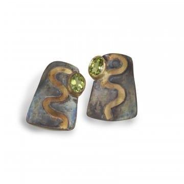 Pathways Peridot Earrings